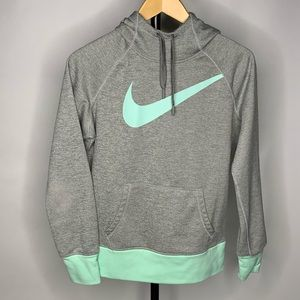 Nike Therma Fit Grey pPull Over Hoodie Jacket